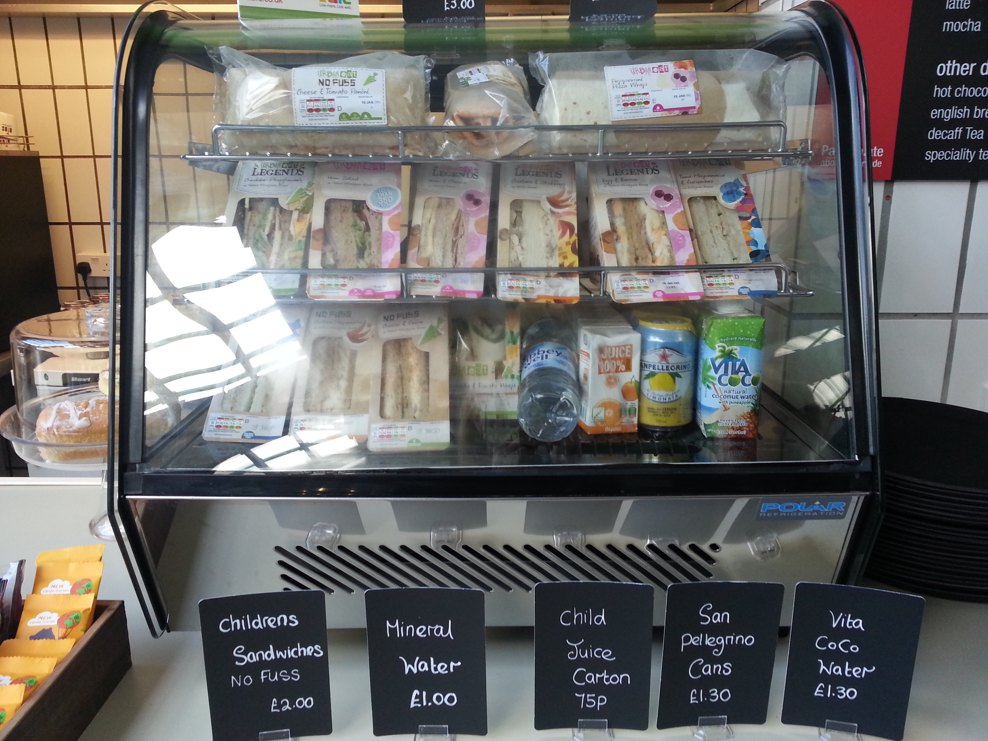Parklands Leisure Centre has introduced a new food and drinks range following customer feedback