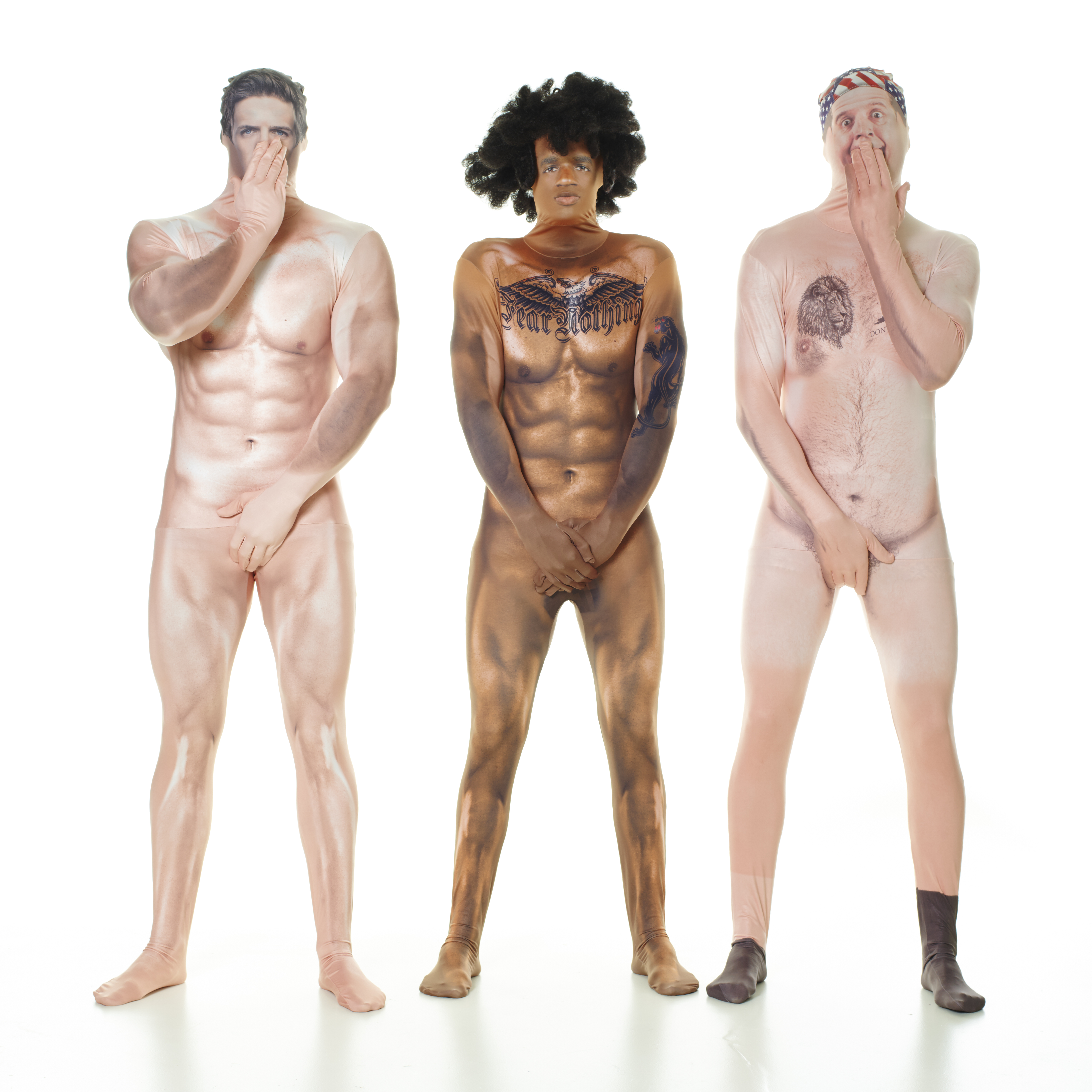 Do you dare to bare? MorphCostumes high definition 'Birthday Suit' is only for the brave