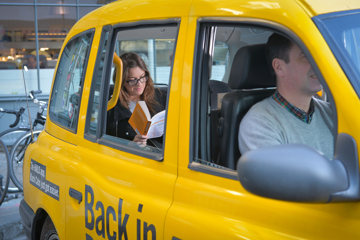 Leading taxi app Hailo has teamed up with Penguin Random House to launch the Black Cab Books campaign offering Londoners free books in cabs ahead of World Book Night (23rd April)