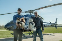 James and Martin prepare to drop 'fat cats' over London