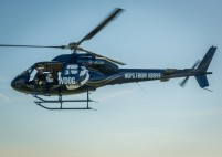 BrewDog helicopter over London