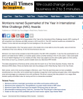 Morrisons named Supermarket of the Year in International Wine Challenge (IWC) Awards - Retail Times