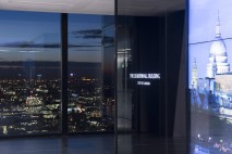 London's 'Cheesegrater' building rises above the competition with huge media wall by Engage Works
