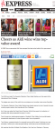 Cheers as Aldi wine wins top-value award - Daily Express