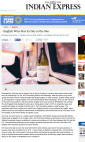 English Wine Has its Day in the Sun - Indian Express