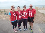 It's a family affair! Brighton family say working out together on the beach has changed their lives