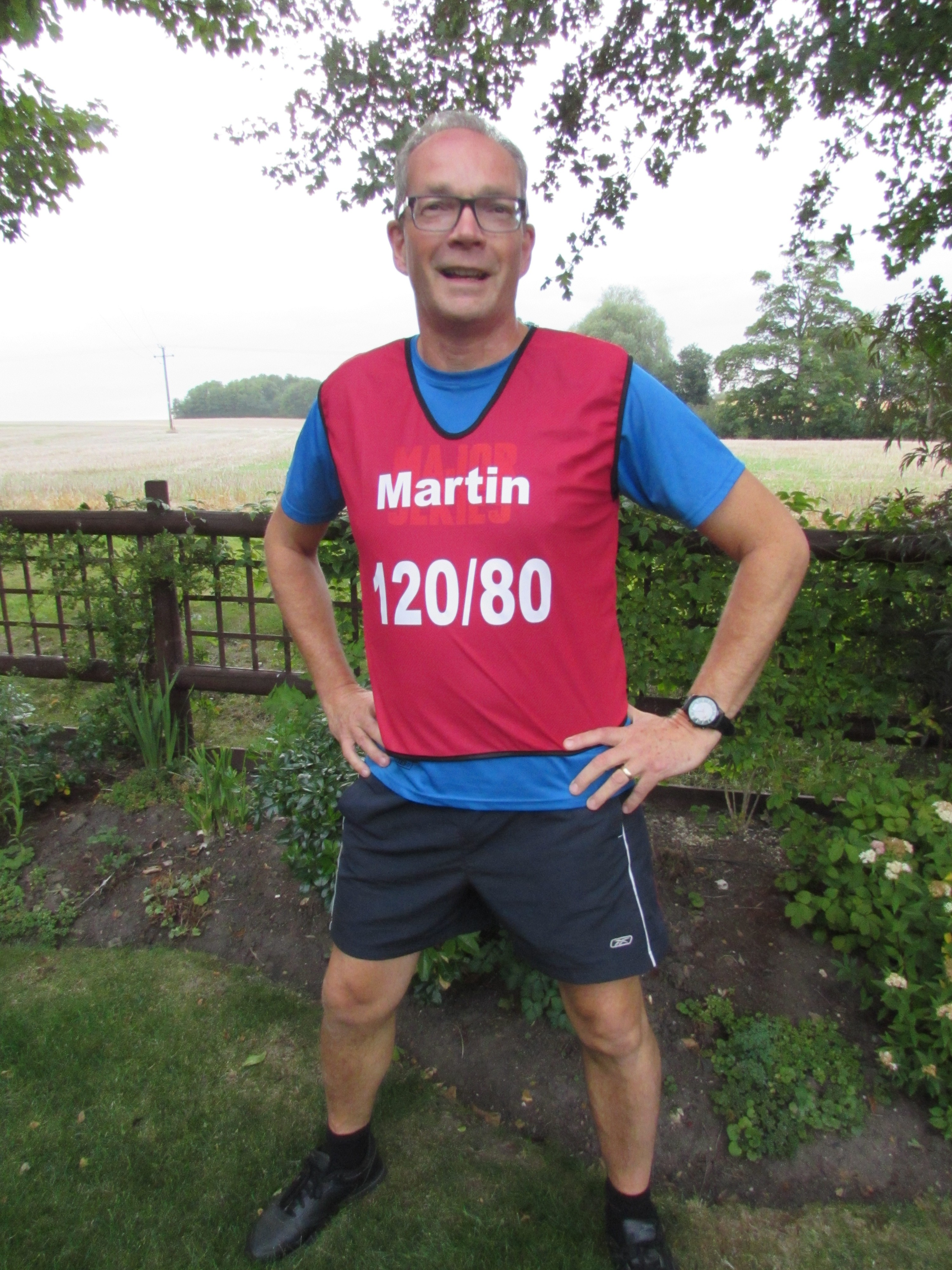 Training with BMF and a low fat diet helped Martin's blood pressure drop from 191/119 to 120/80