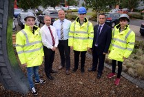 Local housebuilder fosters the future of construction with four new apprentices