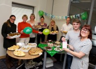 Coffee and cakes for charity! Local housebuilder hosts Macmillan coffee morning