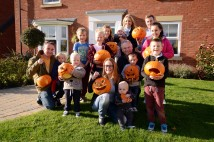 Spooky spectacles at Middlesbrough housing development