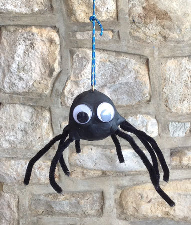 Black Sugru Pipe Cleaners And Boogly Eyes To Transform This Fishing Weight Into Scary Spider This Can Be Used As A Door Pull A Bell Pull