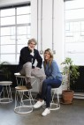 Sir John Hegarty and The Dots founder, Pip Jamieson