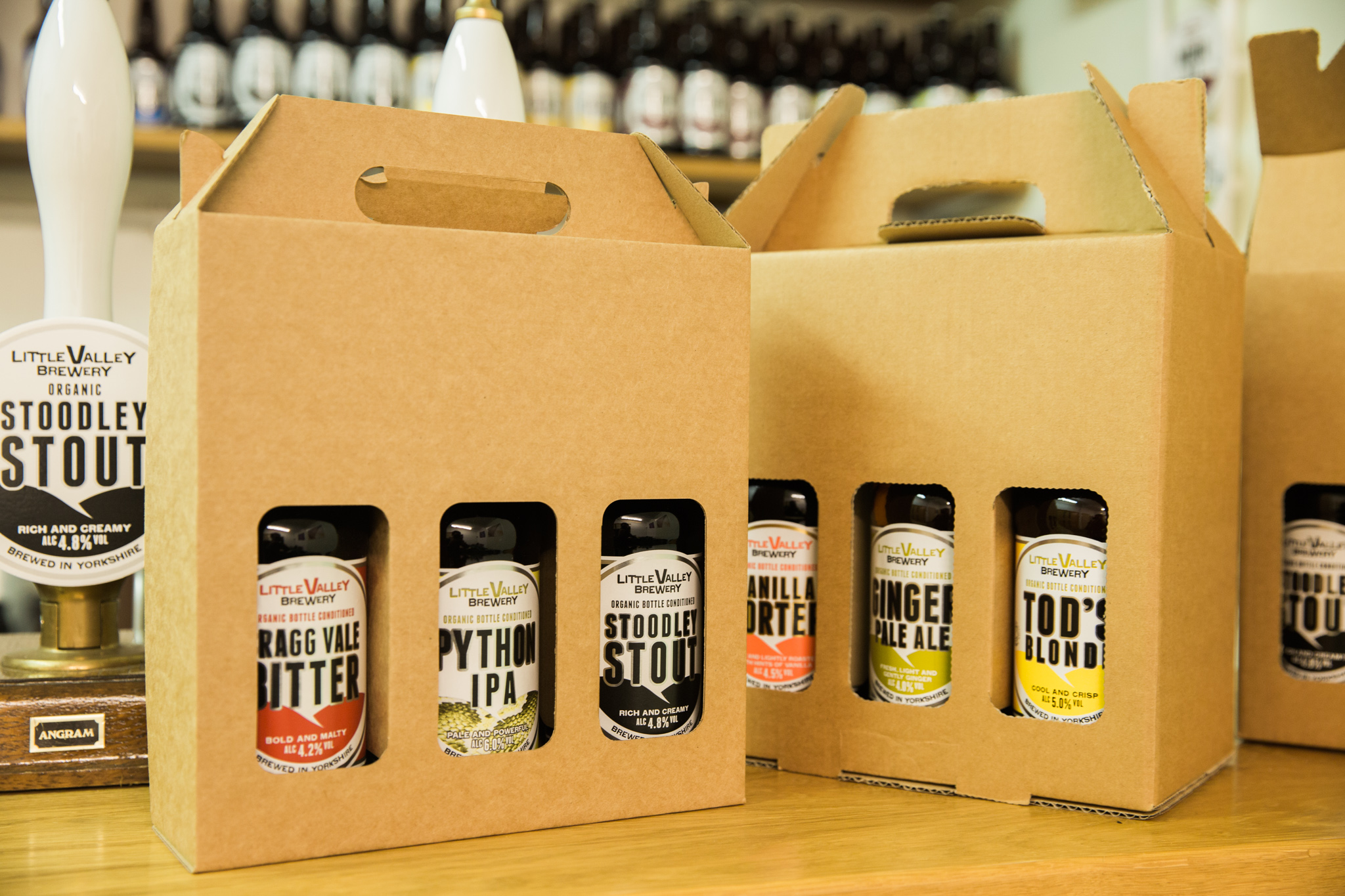As part of its 10th anniversary celebrations, Little Valley Brewery has announced the launch of its brand new website