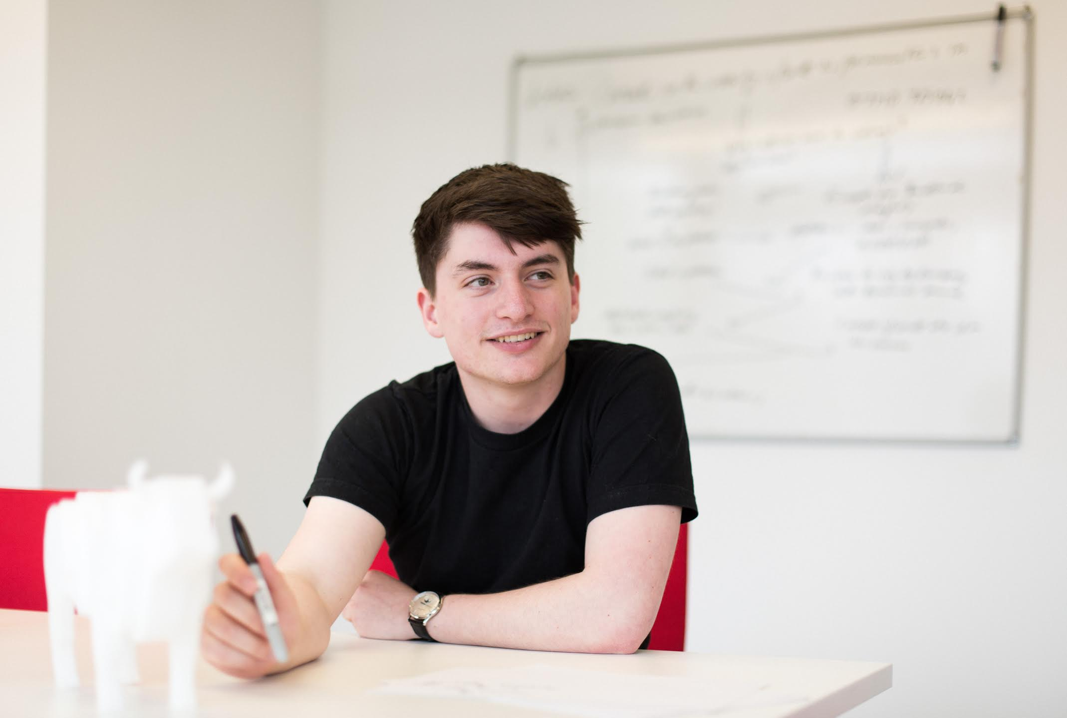Josh Valman, 21, MD of RPD International - a global manufacturing company with a multi-million pound valuation