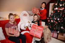 Local housebuilder fundraises for hospice with festive grotto at Nunthorpe housing development