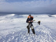 British Military Fitness member completes two-part fitness challenge across the Welsh mountains in temperatures of -12°C