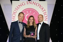 Wienerberger celebrates win for e4 brick house™ at Housing Innovation Awards