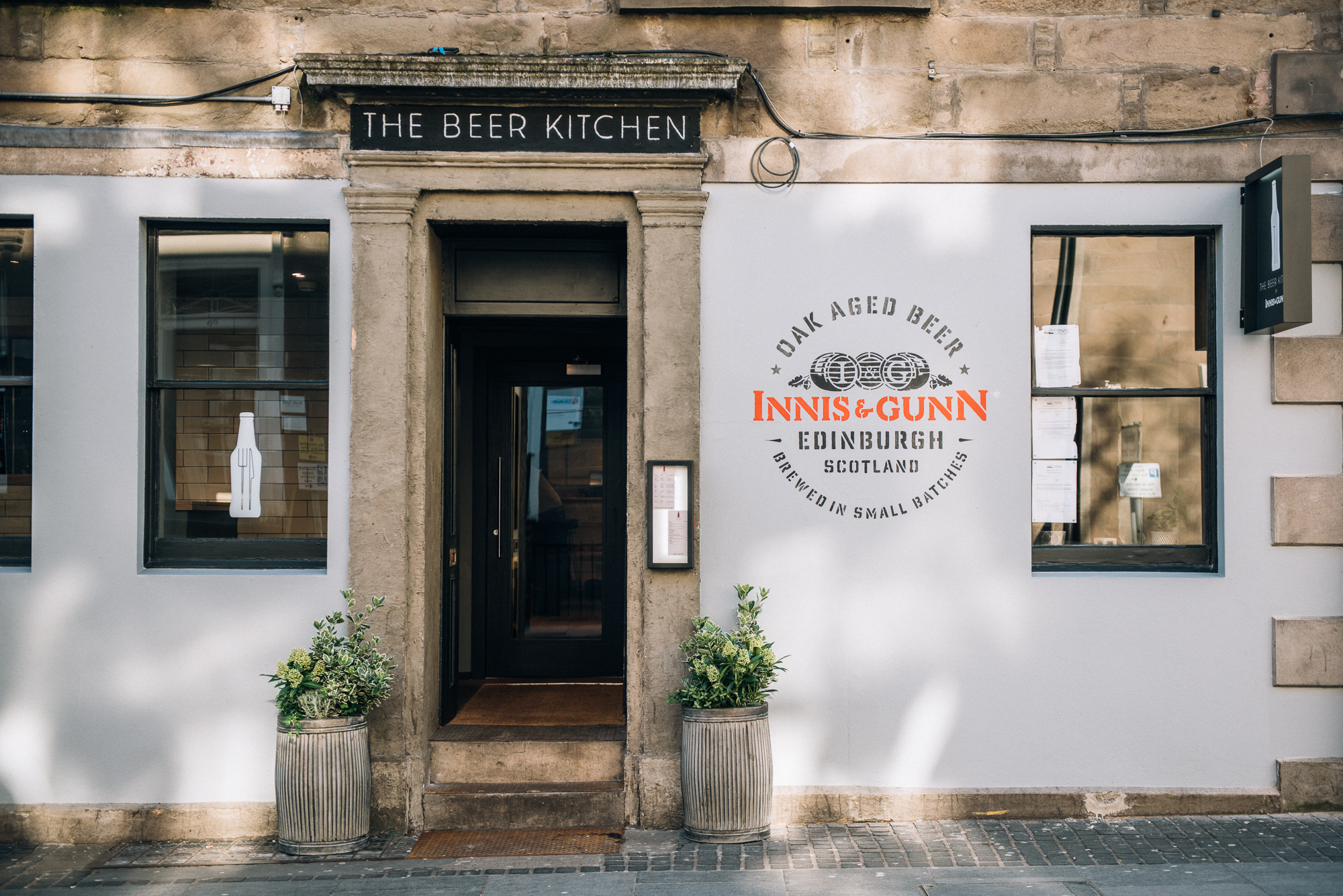 Beer & Marmalade unite: Innis & Gunn opens The Beer Kitchen in ...
