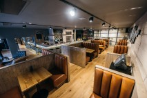 Interior shots of The Beer Kitchen, Dundee