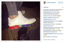 Sugru style steal: Copy Millie Mackintosh's look and create your own Chanel-style coloured trainers with Sugru