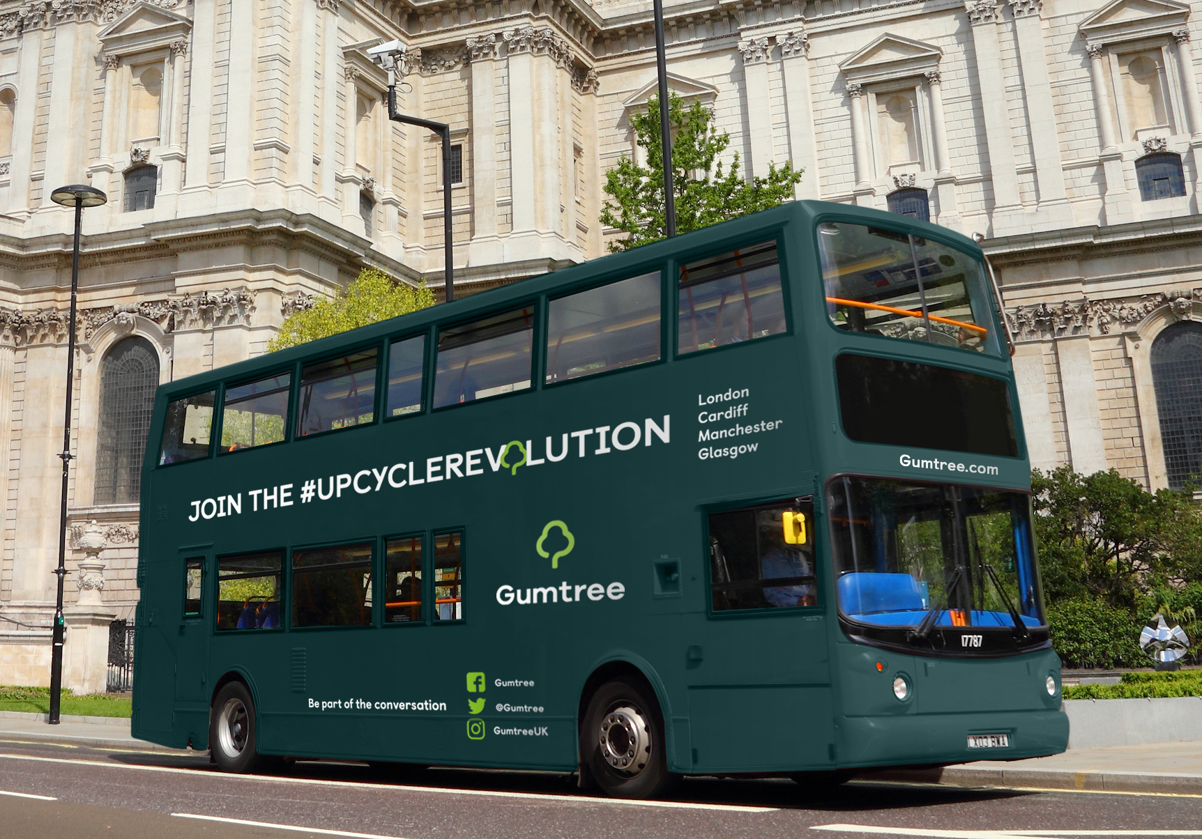 Gumtree Upcycling Revolution Bus