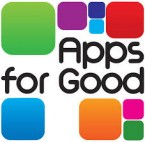 The young App-rentices: Students from Connell Sixth Form College launch their app Donate It for download