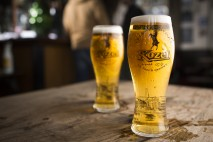 Delicious Kozel waiting for you once you've pressed the Tap Out button