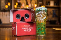 Each piece of VR content has been created using inspiration from the beer and gives a nod towards the brewer's innovative brewing process and Scottish origins.