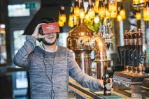 Customers who order the brewer's Original or Lager at participating bars, will now also be served a Virtual Reality headset that will transport them to the landscapes inspired by the flavour profiles of the two brews.