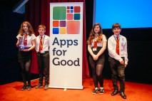 Tomorrow's Tech: A team of four students from Argyll and Bute win the Internet of Things prize at the Apps for Good Awards