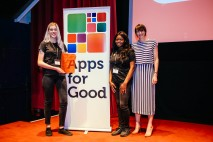 An app-ealing idea: three students from Hertfordshire win Information Category at the Apps for Good Awards