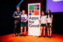 Techy Teens: All girls team from London win the People's Choice award at the Apps for Good Awards