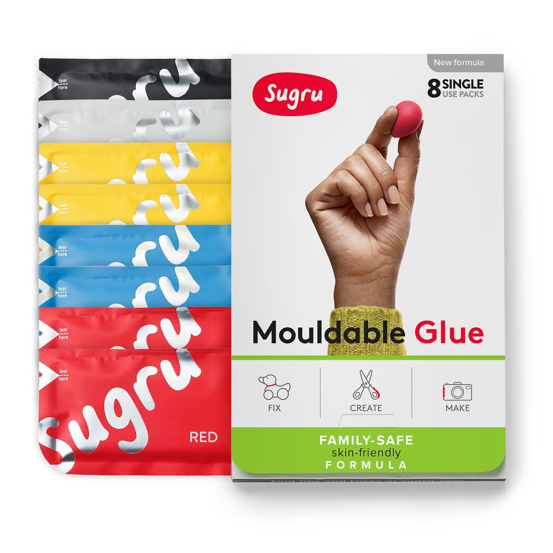 Sugru Family Safe Skin-Friendly Formula