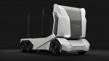All-electric, driverless logging truck revealed at Goodwood Festival of Speed