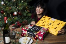 So Wrong Its Noms Annem Hobson with Cheese Advent Calendar original prototype and new