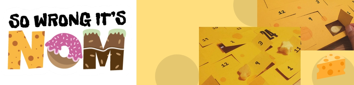 So Wrong It's Nom - Cheese Advent Calendar