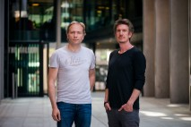 Sweatcoin founders Oleg Fomenko and Anton Derlyatka