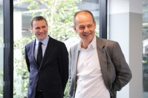L-R: Alexandre Ricard, CEO Pernod Ricard;  Jean-Christophe Coutures CEO Chivas Brothers