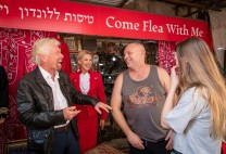 Sir Richard Branson out negotiated as hagglers secure 90% off flights in Tel Aviv Market