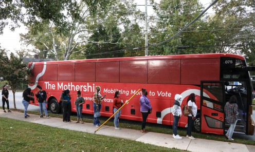 The Mothership Voting Line